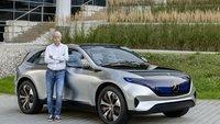 Elektroauto: Mercedes-Benz enthüllt Generation EQ mit 500 km Reichweite