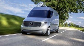 """adVANce: Mercedes Benz """"Vision Van"""" mit Drohnen und automatischer Auslieferung"""