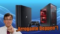 "PS4 Pro: Michael Pachter nennt PC-Spieler ""arrogante Deppen"""