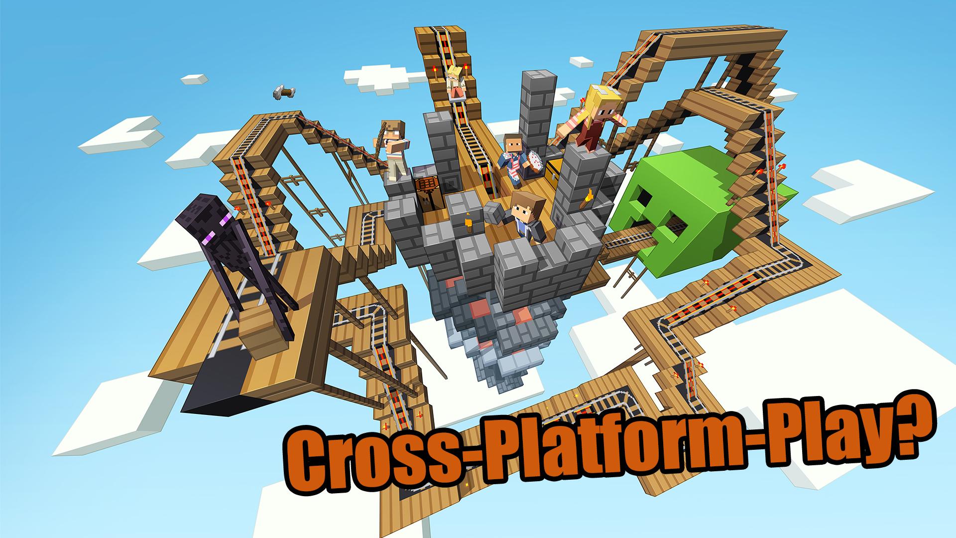 Minecraft Realms Wohl Erstes CrossPlatformSpiel Zwischen PS Und - Minecraft ps4 pc zusammen spielen