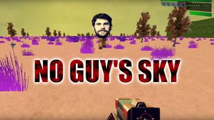No Guy's Sky: Modder fusioniert No Man's Sky mit Doom 2