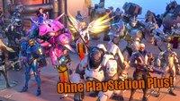 Overwatch auf der PS4 ein ganzes Wochenende lang kostenlos ausprobieren – auch ohne PlayStation Plus