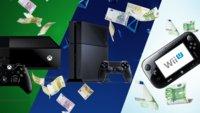 Verwandle Deine alte Konsole in Bargeld: So viel sind PS4, Xbox One und Wii U noch wert