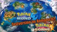 Pokémon Sonne & Mond: Koreanische Rating-Agentur listet Demo-Version