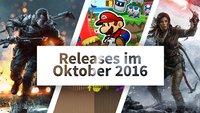 Release-Liste Oktober 2016: Auf diese Spiele kannst Du Dich diesen Monat freuen