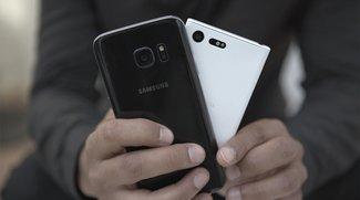 Sony Xperia X Compact vs. Samsung Galaxy S7: Die ungleichen Konkurrenten im Video-Vergleich