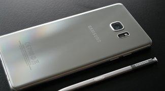 Galaxy Note 7: Grünes Akku-Icon als Sicherheitszeichen?
