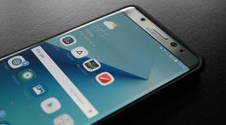 Galaxy Note 7: Mann verklagt Samsung wegen Verbrennungen nach Explosion