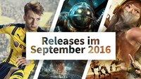 Release-Liste: Auf diese Spiele kannst Du Dich im September 2016 freuen