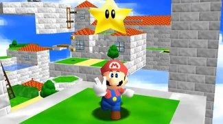 Super Mario Maker: Super Mario 64 in 2D nachgebaut