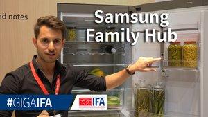 Samsung Family Hub: Smarter Kühlschrank im Hands-On