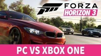 Xbox gegen PC: Forza Horizon 3 im Vergleichsvideo