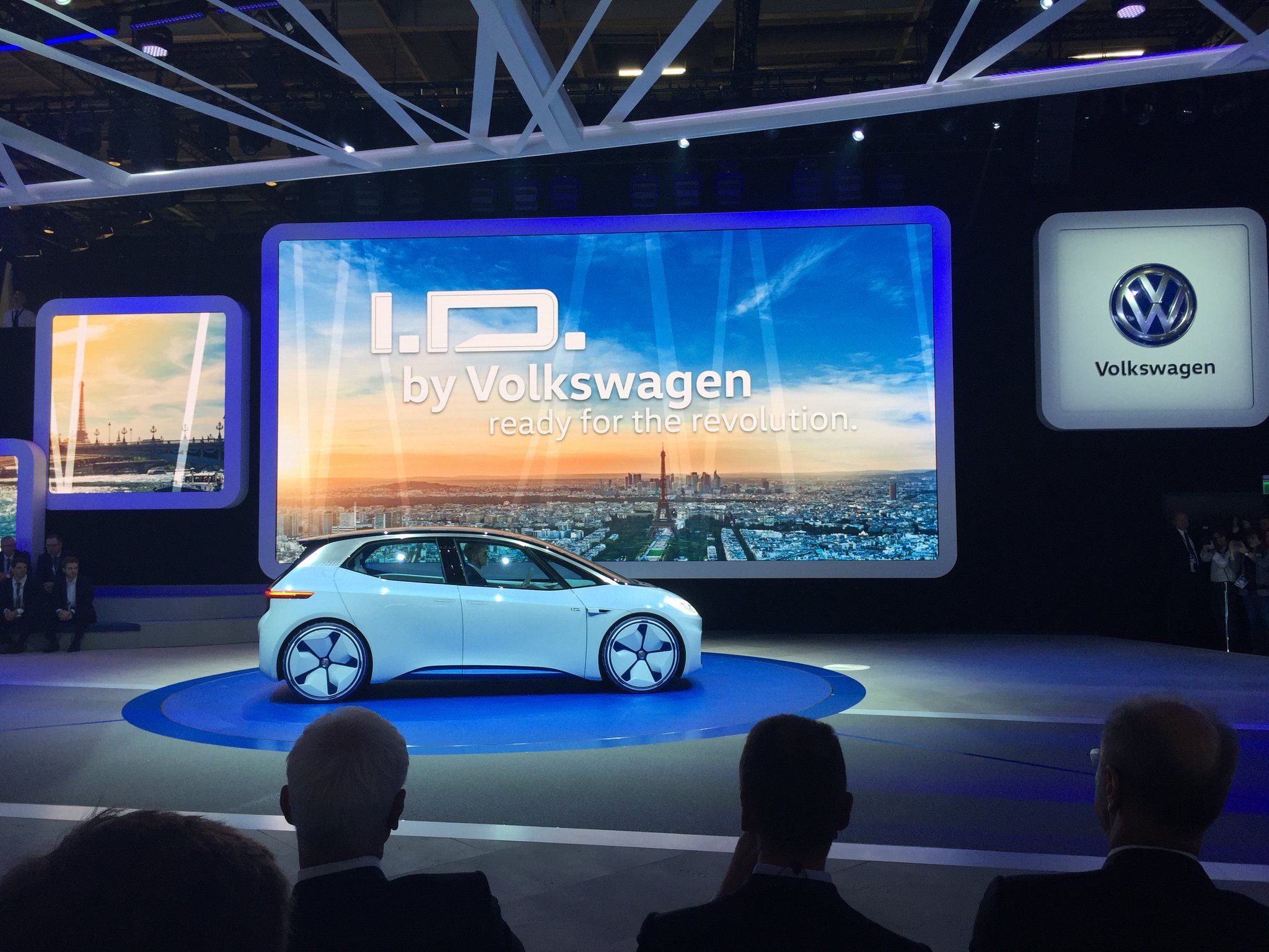 4ea628785 Elektroauto: VW I.D. mit hoher Reichweite von bis zu 600 km angekündigt
