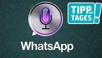 WhatsApp-Nachrichten mit Siri verschicken: So gehts