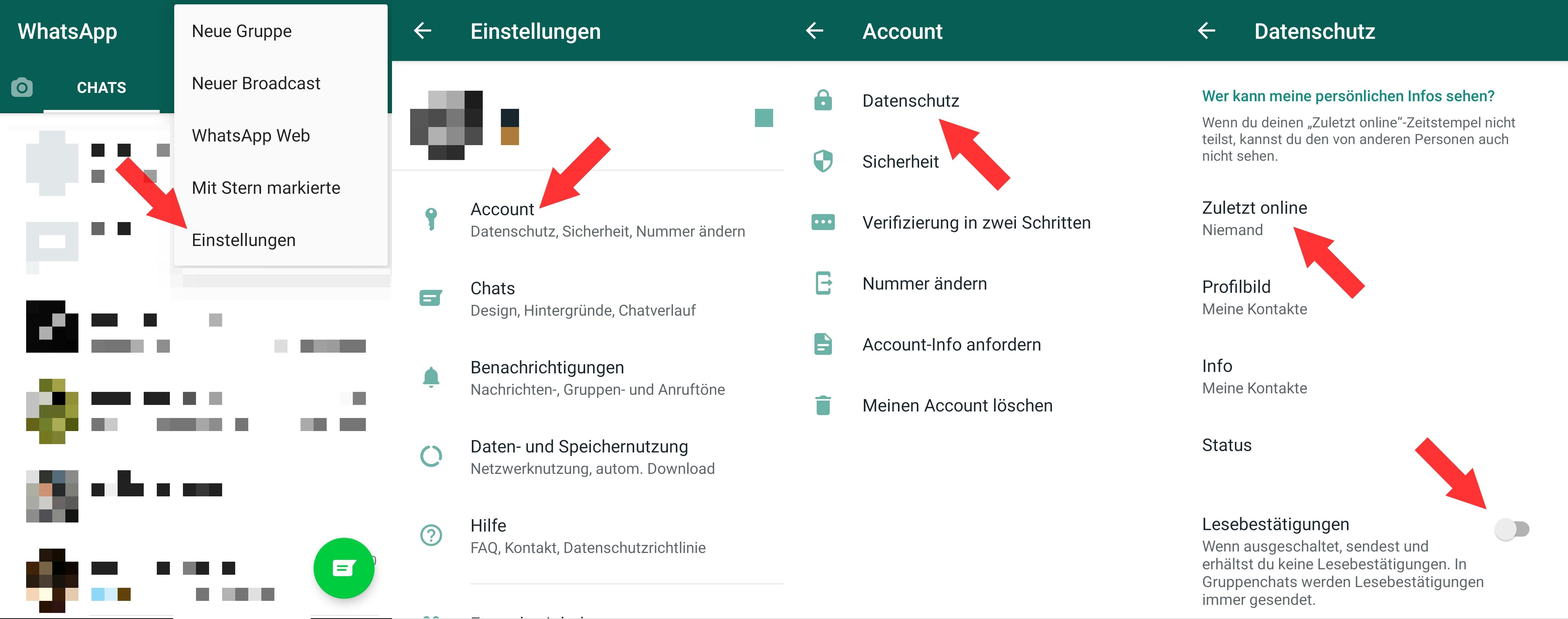 Whatsapp Online Ausstellen
