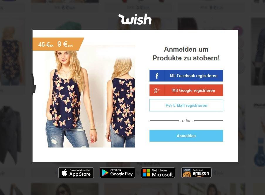 wish.com seriös