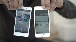 Sony Xperia X Compact vs. iPhone 6s: Video-Duell der handlichen High-End-Handys