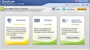 ZoneAlarm Free Antivirus + Firewall