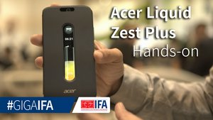 Acer Liquid Zest Plus: Dauerläufer im Hands-On auf der IFA 2016