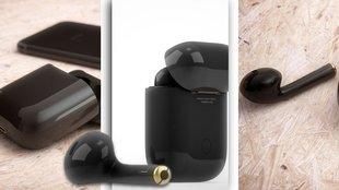 Apple AirPods in Schwarz: Black ist the new white.