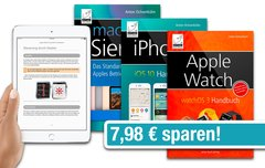 GIGA-Bundle: E-Books zu macOS Sierra, iOS 10 und watchOS 3 zusammen nur 8,99 Euro