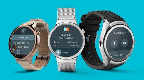 Endlich: In Android Wear 2.0 erhalten Smartwatches direkten Zugriff auf den Play Store
