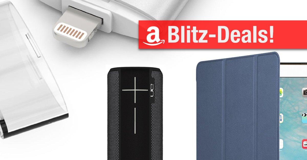 Blitzangebote: Lightning-Laufwerk, iPad-Case, Lautsprecher ...
