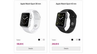 Günstig wie nie: Apple Watch im Ausverkauf