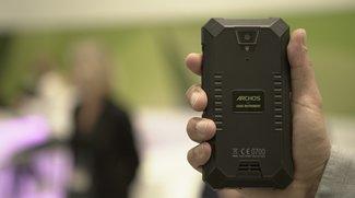 Archos 50 Saphir: Outdoor-Smartphone mit 5.000-mAh-Akku im ersten Hands-On