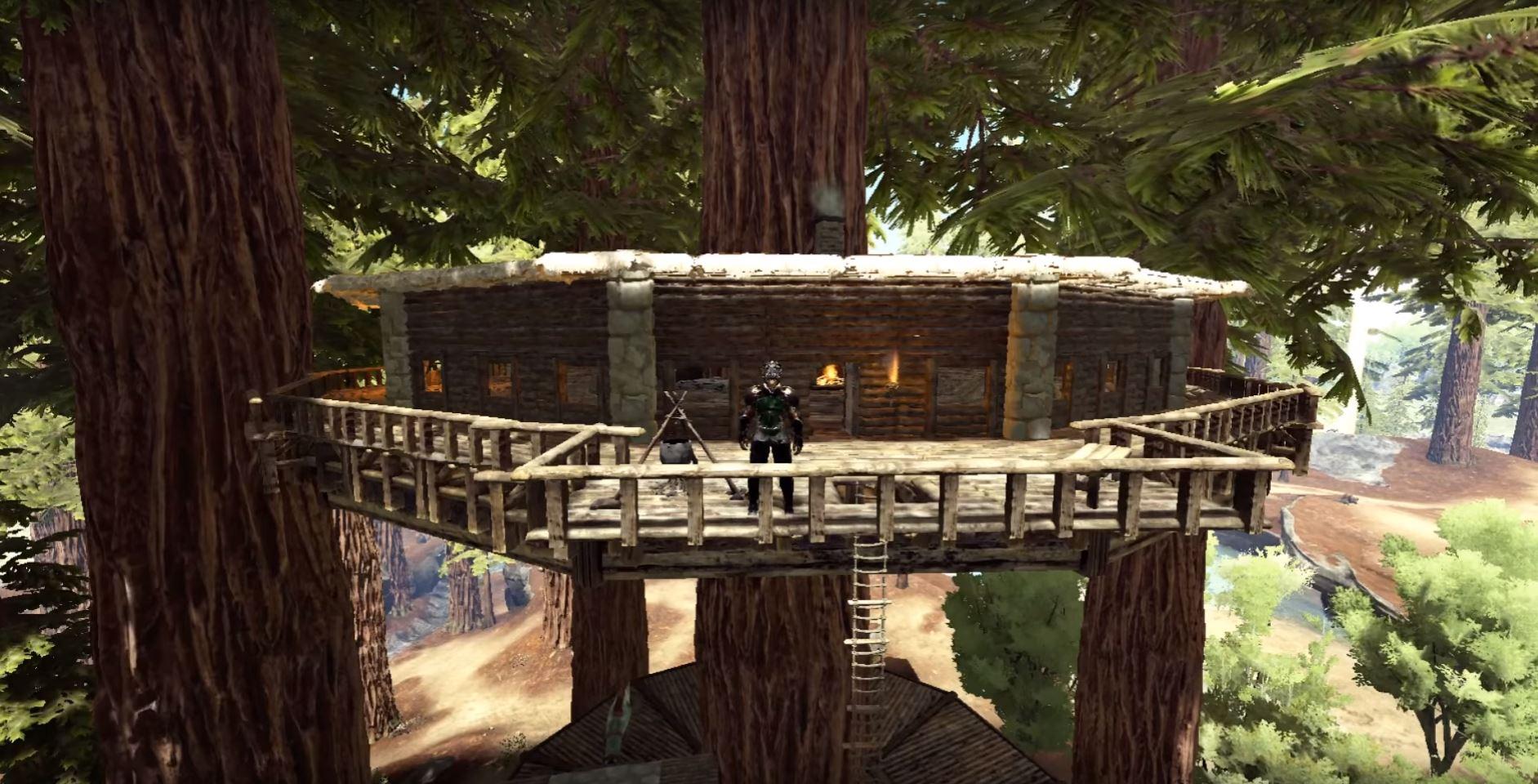 ark survival evolved die krassesten h user und basen von spielern bild 1 bilderserie giga. Black Bedroom Furniture Sets. Home Design Ideas