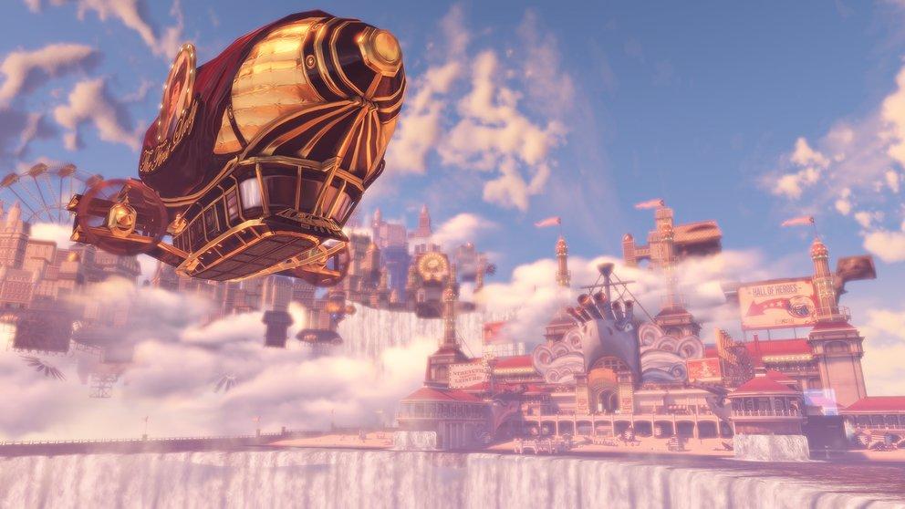 Zuerst unter Wasser und danach hoch in der Luft: Die BioShock-Collection enthälte alle Singleplayer-Inhalte der 3 Teile.