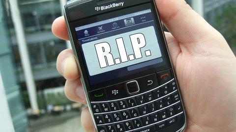 Blackberry: Smartphone-Pionier gibt offiziell Entwicklung auf