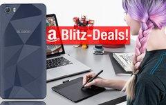 Blitzangebote:<b> BT-Lautsprecher, Noise-Cancelling Kopfhörer, BLUBOO Picasso Smartphone, Wacom Comic-Grafiktablett u.v.m.</b></b>