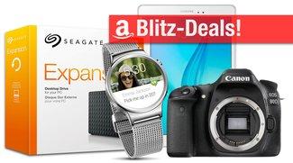 Blitzangebote: Samsung Galaxy Tab A, Festplatten, NAS, Canon EOS 80D, Huawei SmartWatch u.v.m. heute günstiger