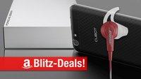 Blitzangebote: Bose-Ohrhörer, Smartphone mit Android 6.0, Creative BT-Lautsprecher, Porsche-Festplatte + Prime Deals