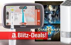 Blitzangebote:<b> TomTom Navis, Braun App-Zahnbürste, AirPlay-Lautsprecher, StarCraft II, NAS u.v.m. heute billiger</b></b>