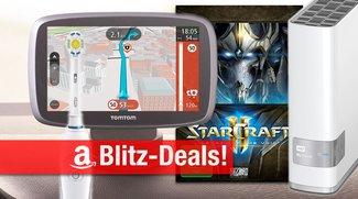 Blitzangebote: TomTom Navis, Braun App-Zahnbürste, AirPlay-Lautsprecher, StarCraft II, NAS u.v.m. heute billiger