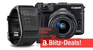 Blitzangebote: USB-Sticks, Festplatten, Speicherkarten, Garmin Smartwatch, Canon EOS M3, Medion Tablet u.v.m.