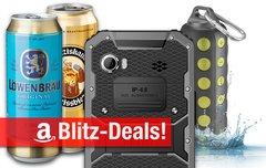 Blitzangebote:<b> Dosenbier, wasserdichtes 6-Zoll-Smartphone und BT-Lautsprecher, Thunderbolt-RAID u.v.m. günstiger</b></b>