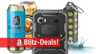 Blitzangebote: Dosenbier, wasserdichtes 6-Zoll-Smartphone und BT-Lautsprecher, Thunderbolt-RAID u.v.m. günstiger