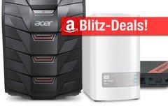 Blitzangebote:<b> Gaming-PC, NAS (8 TB), Thunderbolt-2-Festplatte, Android-TV-Box u.v.m. + Prime Deals</b></b>