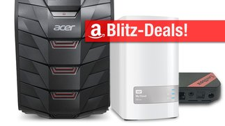 Blitzangebote: Gaming-PC, NAS (8 TB), Thunderbolt-2-Festplatte, Android-TV-Box u.v.m. + Prime Deals