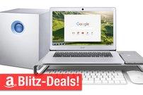 Blitzangebote: Chromebook, Festplatten-RAID mit 10 und 20 TB, Alu-Ständer u.v.m. günstiger + Rabatte auf Anker-Produkte