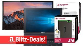 Blitzangebote: Transcend Speicherprodukte mit 40% Rabatt&#x3B; Samsung Galaxy TabPro S, 4K-Display u.v.m. günstiger