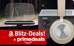 Blitzangebote & Prime Deals:<b> AirPlay-Receiver, B&O-Kopfhörer, Lautsprecher, Smartphone-HUD, 8TB-Festplatte u.v.m.</b></b>