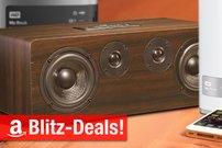 Blitzangebote: AirPlay-Lautsprecher, 35-Zoll-Display, 8 TB Desktop-RAID, 6 TB NAS u.v.m. nur heute zum Bestpreis