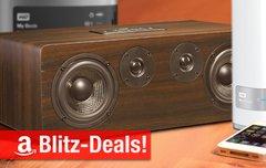 Blitzangebote:<b> AirPlay-Lautsprecher, 35-Zoll-Display, 8 TB Desktop-RAID, 6 TB NAS u.v.m. nur heute zum Bestpreis</b></b>