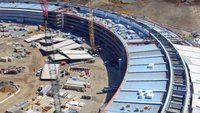 Apple Campus 2: Videos zeigen Baufortschritt am Dach