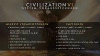 Civilization 6: Systemanforderungen zur Epochen-Strategie