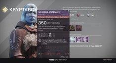 Destiny - Rise of Iron: Artefakte sammeln und einstimmen - alle Effekte im Überblick